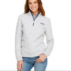Vineyard Vines Allover Quilted Shep Shirt (Women)